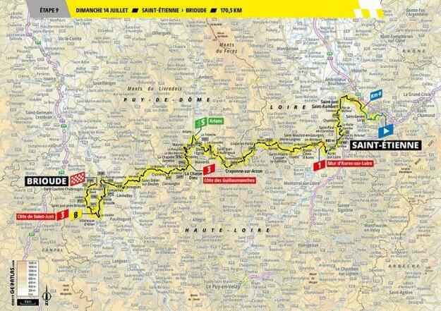 9. etapa Tour de France 2019.