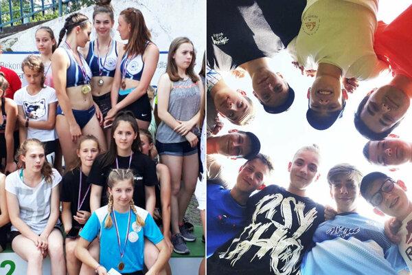Na celoslovenské kolo postupujú dievčatá zo Športového gymnázia v Nitre a chlapci zo ZŠ Topoľová.