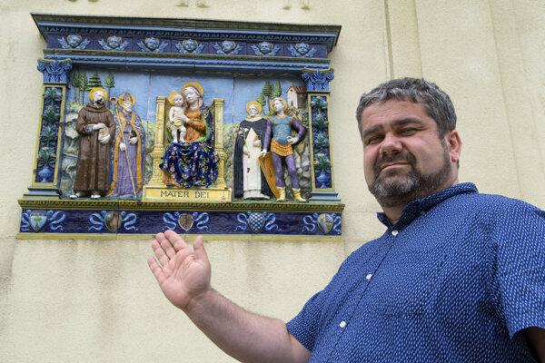 Riaditeľ Baníckeho múzea v Rožňave Pavol Lackanič.
