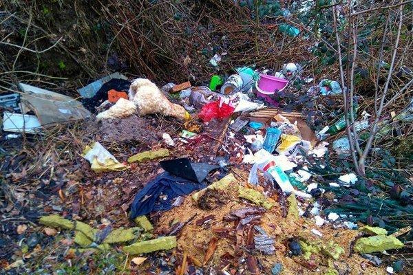 Ľudia odpad do prírody vyhadzujú aj napriek informačným tabuliam o dĺžke jeho rozkladu v prírode.
