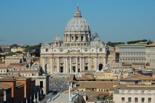 Vatikán, chrám sv. Petra