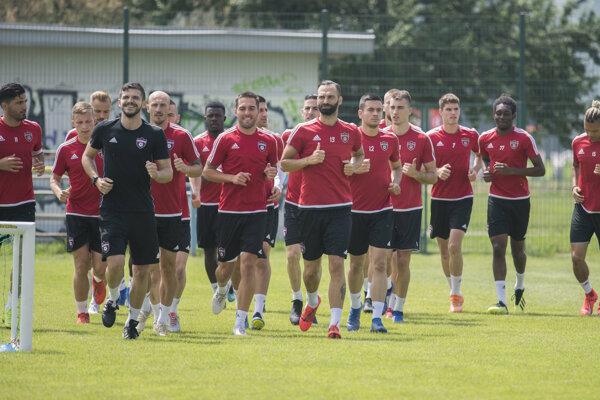 Futbalisti FC Spartak Trnava odštartovali letnú prípravu na sezónu 2019/2020, 10. júna 2019 v Trnave.