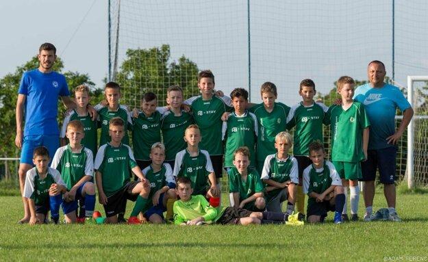 Výber ObFZ Nitra TUKO U11 vo vrcholnej fáze prípravy na Wroclaw Trophy.