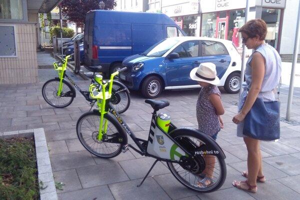 O elektrobicykle v Trnave je veľký záujem.