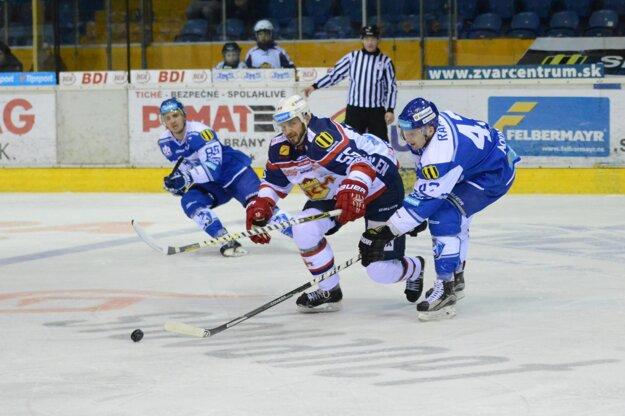 Pavel Brendl v korčuliarskom súboji.