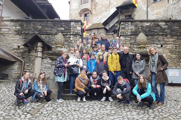 Na návšteve Oravského hradu.