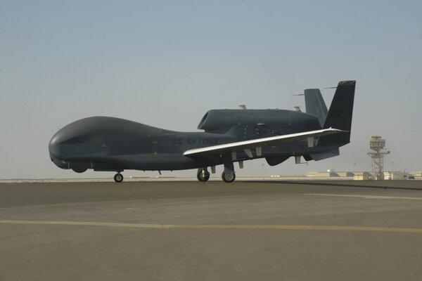 Irán zostrelili americký dron.