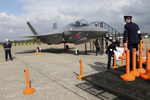 Stíhačka F-35 japonskej armády.