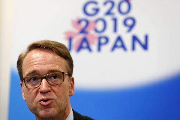 Šéf nemeckej centrálnej banky Jens Weidmann.