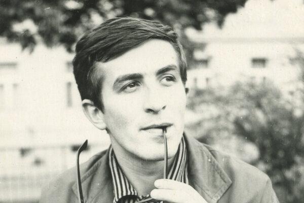 Július Satinský v mladosti