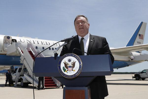 Pompeo vycestoval do Saudskej Arábie a SAE na rokovania o Iráne