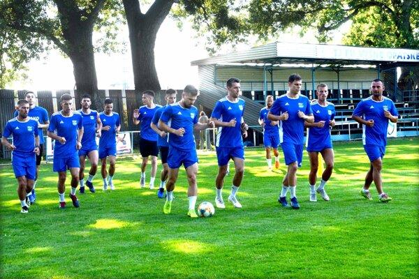 Futbalisti FC Košice odštartovali v utorok prípravu na druhú ligu.