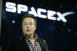 Šéf firmy SpaceX Elon Musk.