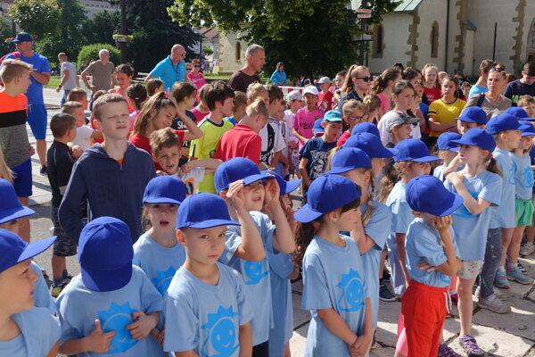 Žiaci základných škol súťažili v centre Liptovského Mikuláša.