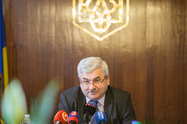 Veľvyslanec Ukrajiny v SR Jurij Muška.