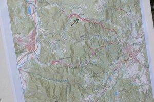 Úseky, ktoré kraj zrekonštruoval,na mape.