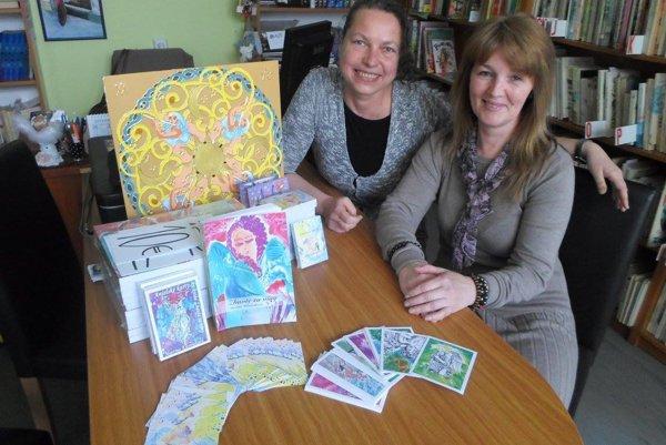 Knihu s názvom Zbavte sa viny predstavila Martina Klesniaková (vľavo).