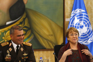 Minister obrany Venezuely Vladimir Padrino