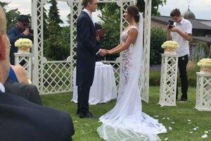 Romantický a honosný svadobný obrad