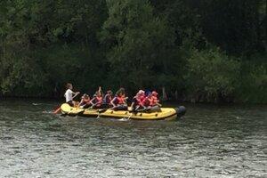 Rafting na Dunajci.