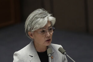 Juhokórejská ministerka zahraničných vecí Kang Kyung-wha.