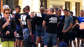 Svedkyňa bitky: Nevedeli sme, kto je útočník a kto sa chce skryť (video)