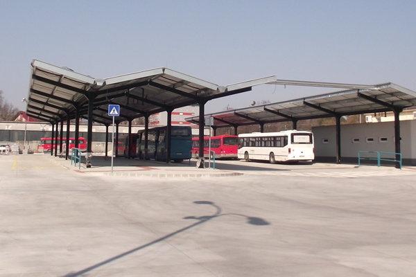 Vynovená časť stanice ešte nie je v prevádzke.