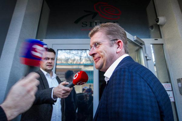 Nový minister hospodárstva Peter Žiga