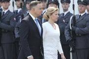 Zuzana Čaputová s poľským prezidentom.