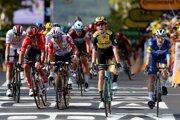 Desiatu etapu na Tour de France 2019 vyhral Wout van Aert.