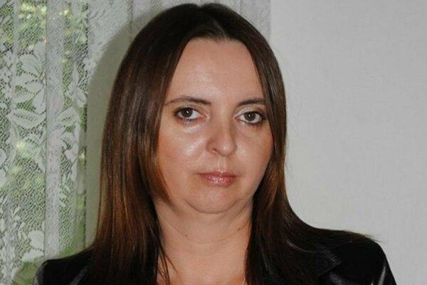 Primátorka Čiernej nad Tisou Marta Vozáriková.