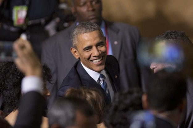 Barack Obama na Kube.