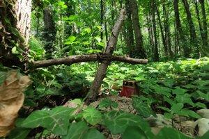 Nelegálny zvierací hrob v petržalských lužných lesoch