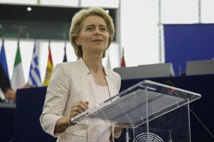 Budúca predsedníčka exekutívy EÚ Ursula von der Leyenová.