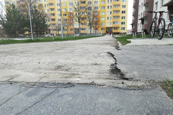 Ulica S. Jurkoviča.