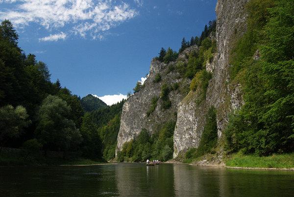 Pieniny sú prvé cezhraničné chránené územie v Európe od roku 1932.