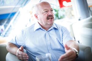 Expert na obranu a bezpečnosť strany SPOLU-občianska demokracia Pavel Macko.