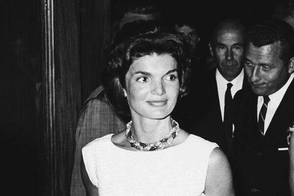 Jacqueline Kennedyová v auguste 1961.