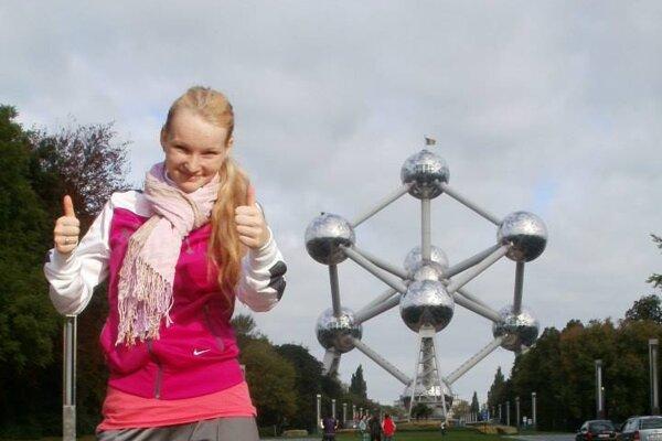 Nikola v Bruseli pracuje ako opatrovateľka.