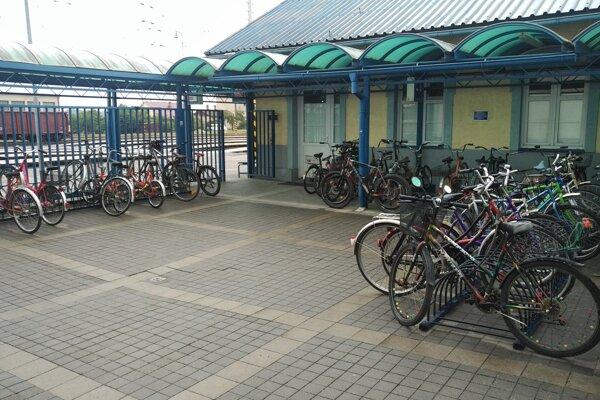 železničná stanica Galanta.