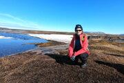 Patrícia Bátovská v Arktíde.