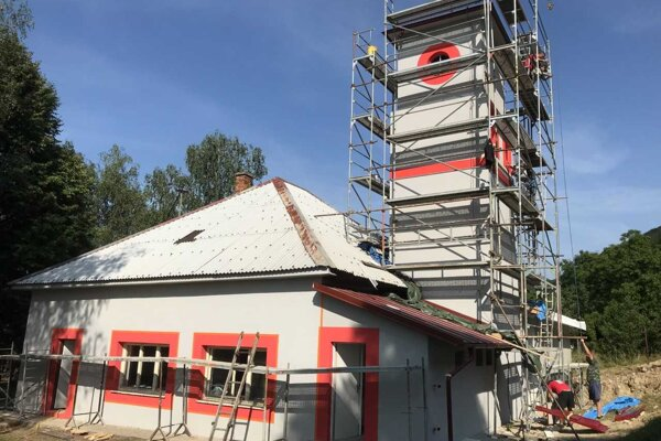 Požiarna zbrojnica v Lipovci.