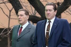 Al Pacino a Robert De Niro vo filme Martina Scorseseho The Irishman.