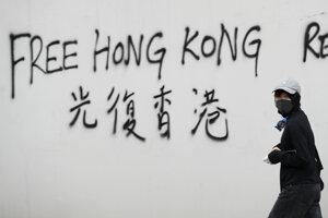 V Hongkongu pokračovali demonštrácie.
