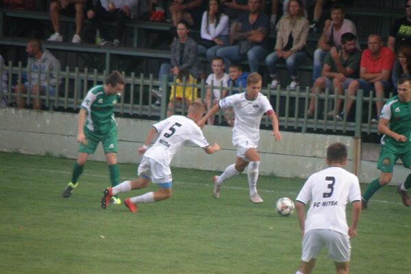V sobotňajšom zápase FKM - Nitra B videli diváci góly aj šance, ale najmä zaujímavý futbal.