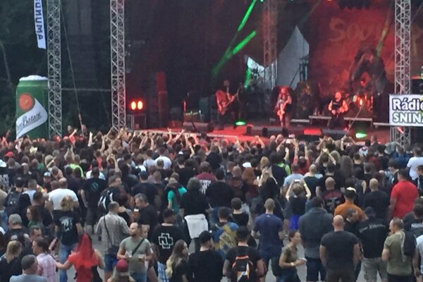 Max Cavalera a Soulfly.