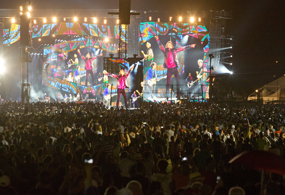 Na koncert prišlo 200-tisíc ľudí.
