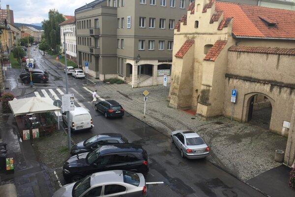 Takto to vyzeralo v Prešove po krátkej búrke.