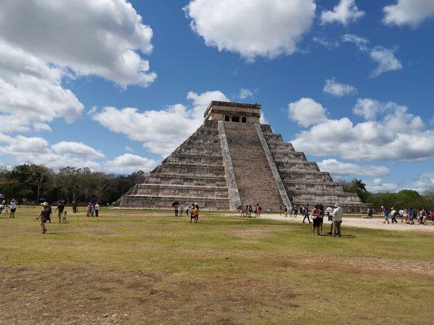 Pyramída Chichén Itzá