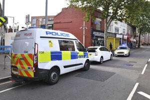 Miesto útoku na policajta v oblasti Leyton vo východnom Londýne.